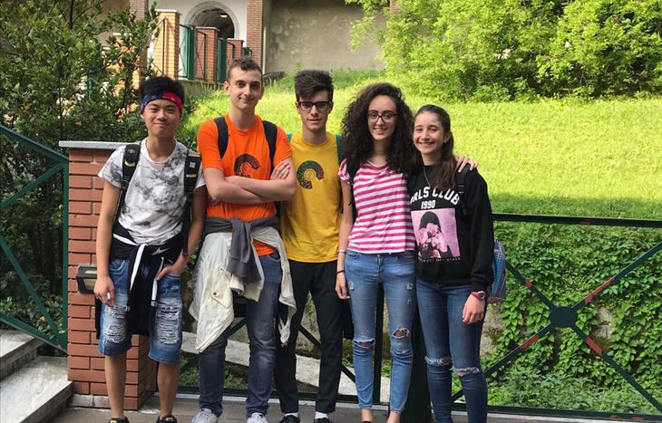 Olimpiadi delle scienze - la squadra valdostana