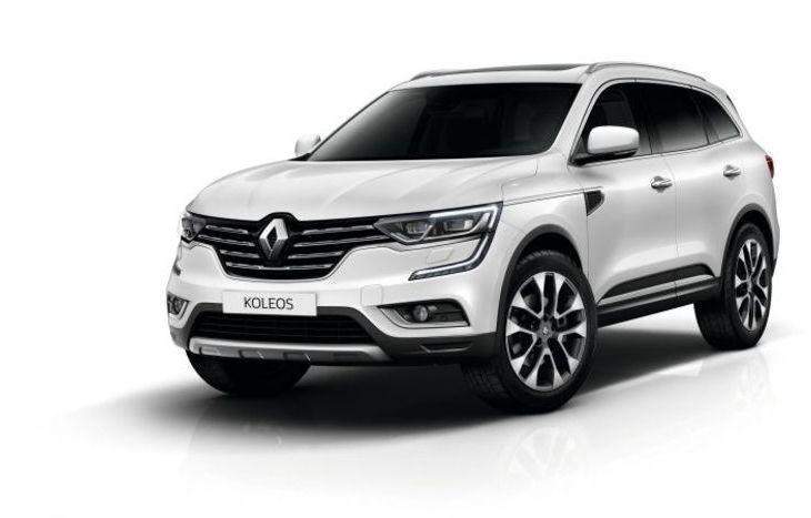 Koleos, il SUV Renault