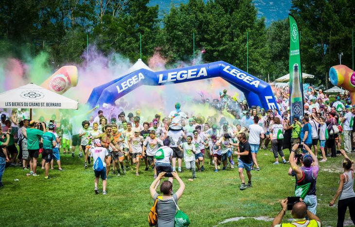 Holi Splash Run 2018 - Foto di Simone Fortuna