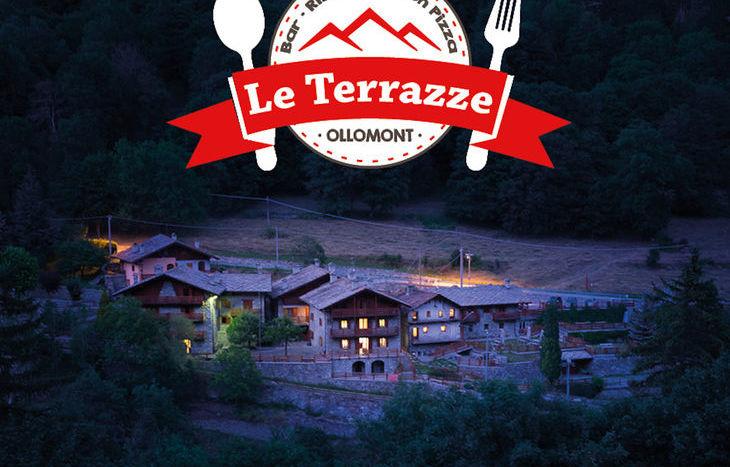 Ristorante con pizza Le Terrazze - Ollomont.