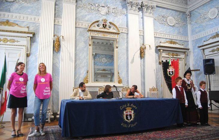 La presentazione degli eventi estivi di Aosta