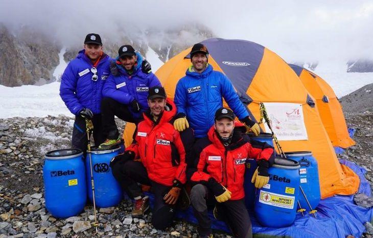 Il gruppo della spedizione G4