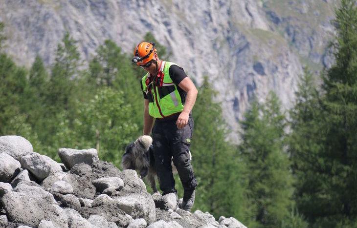 Frana in Val Ferret