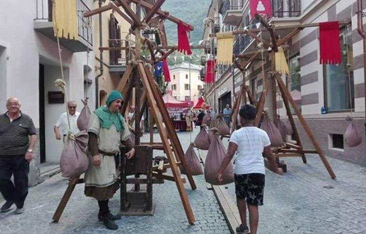 Festa medievale a Verrès - Foto di Riccarda Lettry