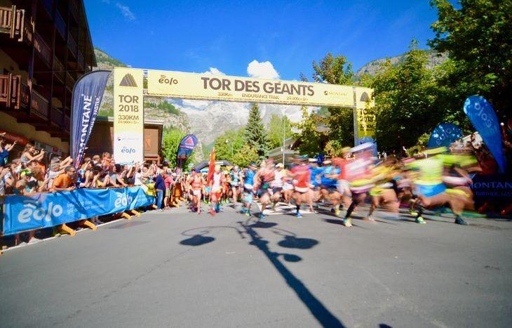 Partenza Tor des Géants 2018
